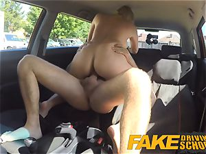 fake Driving college big sticky facial conclude