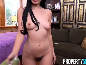 asian tenant Marica entices the house manager