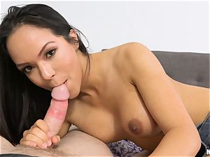 Emily Mena has her taut vagina bashed by rigid penis