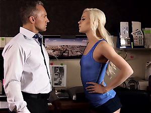 demon inwards Pt trio Elsa Jean and Alexis Fawx all girl tryst
