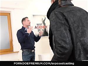 revealed audition - Valentina Bianco 3some casting