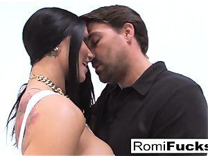 hardcore fuckfest with porno starlet Romi Rain