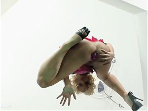 butt Traffic presents Kathia in gonzo anal scene