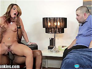 Savannah Fox bangs bbc in front of her husband