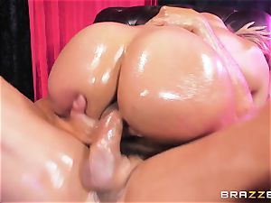Oiley Mercedes Carrera plumbed large time by large manmeat