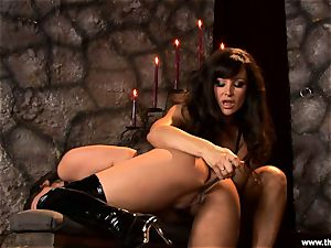 Alluring Charley haunt gets toy plowed by Lisa Ann