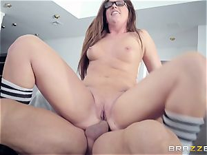 Maddy OReilly plumbed rock hard by Johnnys hard manmeat