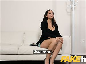 faux Agent jizz enjoying tatted Spanish stunner