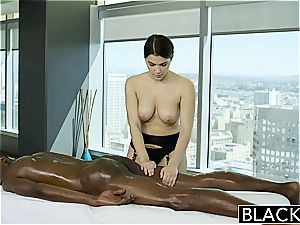 BLACKED spectacular Italian babe Valentina Nappi ass licking dark-hued fellow With fervor