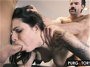 PURGATORY I let my wife bang 2 fellows in front of me