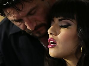 busty latina Mercedes Carrera smashed in her cock-squeezing humid vag