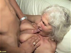 75 years senior grandmother first-ever pornography movie