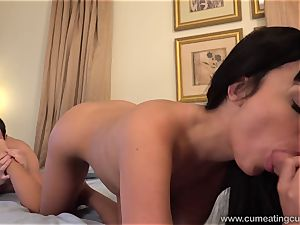 Anissa Has Her hubby deepthroat knob While She ravages