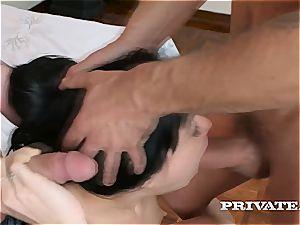 Taissa Shanti gets ass fucking creampied