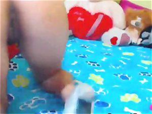 steamy webcam babe suck and pulverize her caboose