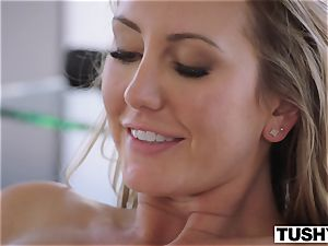 TUSHY Brett Rossi's very first sensational assfuck!