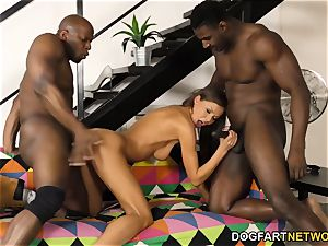 Tina Kay attempts interracial dp
