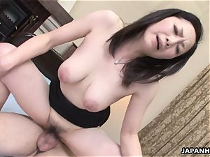 asian wifey got her fur covered cootchie screwed after a sixty nine