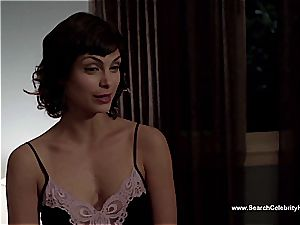impressive Morena Baccarin looking jaw-dropping naked on film