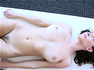 Lily enjoy tantric sex session