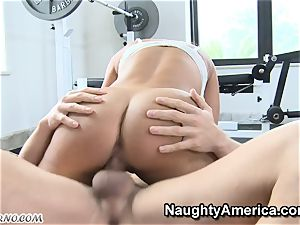 corporal Education lessons with chesty cougar Lisa Ann
