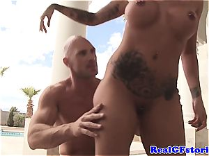 Austin Lynn gets additional naughty for the wood of Johnny Sins
