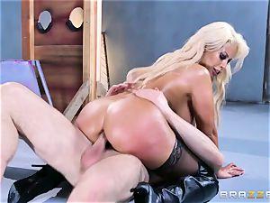 Free ass fucking attractiveness with chesty Spanish senorita Bridgette B