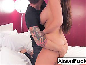 Alison gets her twat fucked