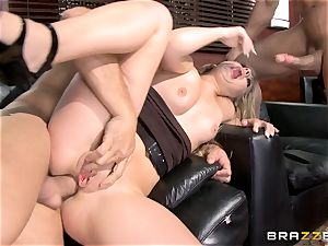 first-ever dual intrusion for Madelyn Monroe
