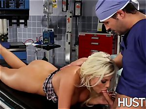 stellar Britney Amber penetrated during doctors examination