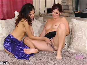 Selma sapphic gonzo video with Alicia Silver