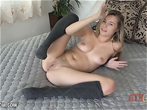 Carolina Sweets wants you to touch her cock-squeezing figure