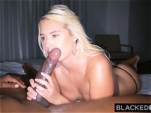 BLACKEDRAW Actress drills Mandingo's bbc For Job