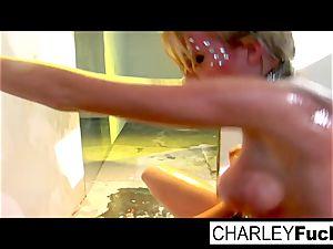 Madison Scott and Charley pursue fuck