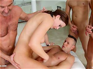 muddy internal ejaculation - Tina Kay gangbang Part two by All Inter