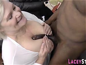 grannie eats black impaler
