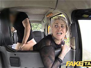 faux taxi blondie mummy gets surprise ass-fuck romp