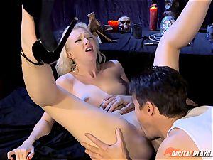 Satanic sex ritual with Samantha Rose
