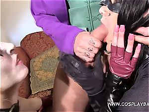 3some with Harley and Catwomen