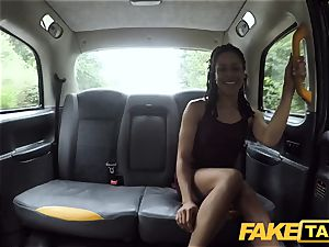 fake cab prompt nailing and internal ejaculation for peachy ass