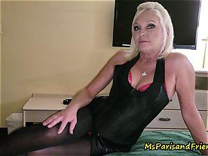 John Calls Over a new mate with Ms Paris Rose