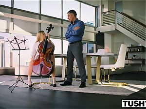 TUSHY Spoiled nubile is punished And Gaped By Music teacher