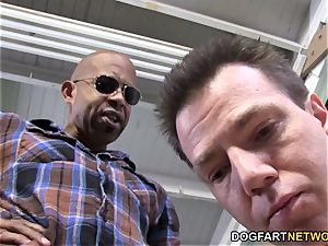 big black cock bitch Kagney Linn Karter humiliates cuckold