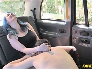 faux cab horny duo have random bang-out