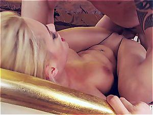 hardcore double penetration with Chloe