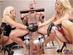 passionate Ms. Alexis Fawx predominates her new submissive