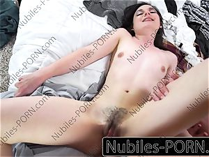 Nubiles-Porn - first massive cock for young fledgling