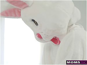 mom And daughter-in-law Hunt For Easter Bunny manhood! S7:E9