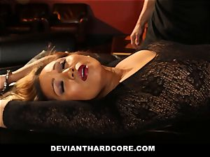 DeviantHardcore - curvaceous chinese Gets fuckbox Electroshocked