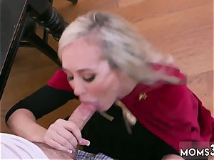 blondie nailed stiff very first time Halloween sensational With A threeway